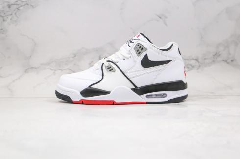 Nike Air Flight 89 White Black Light Smoke Grey Shoes DB5918-100