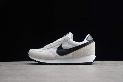 Nike Daybreak SP White Sail Black Mesh Breathable Waffle Racer Running Shoes CK2351-111