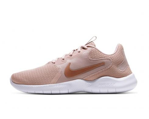 Nike Wmns Flex Experience RN 9 Stone Mauve Metallic Red Bronze CD0227-200