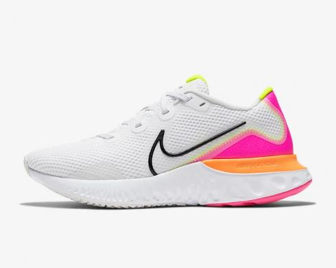Nike Wmns Renew Run Platinum Pink Blast White Black CK6360-005