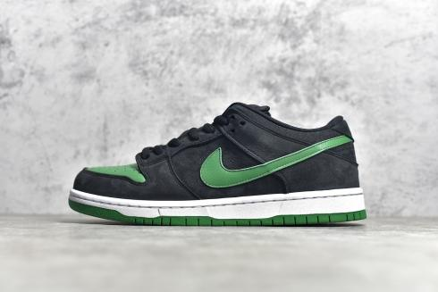 Nike SB Dunk Low Pro Black Green White Running Shoes BQ6017-005