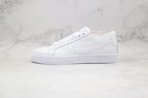 Nike SB Blazer Low All White Summit White Running Shoes 864349-115