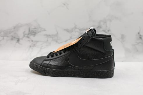 Nike SB Blazer Mid Retro OG Triple Black White Shoes 429988-007