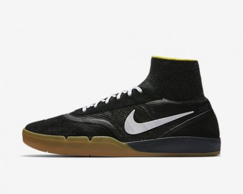 Nike Hyperfeel Eric Koston 3 SB Black White Yellow Strike Gum Light Brown 819673-017