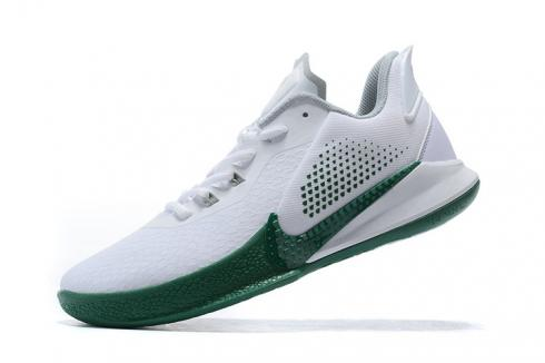 Nike Kobe Mamba Fury White Green Kobe Bryant Basketball Shoes Release Date CK2087-103