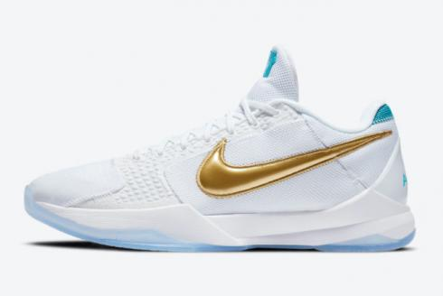 Undefeated x Nike Zoom Kobe 5 Protro What If Pack Unlucky 13 Metallic Gold DB4796-100