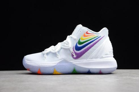 Mens Nike Kyrie 5 BeTrue EP Rainbow Multi-Color CH0521-117