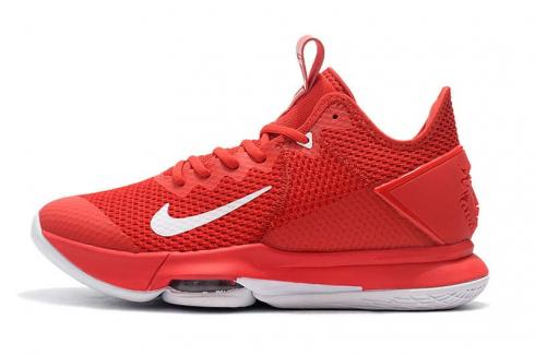 Nike Lebron Witness IV 4 EP Red White New Release James Basketball Shoes BV7427-601