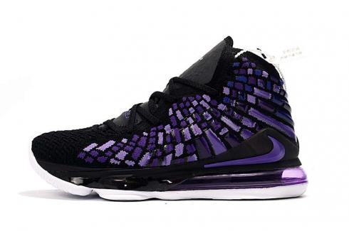 2020 Nike Zoom Lebron XVII 17 Black Purple Online James Basketball Shoes Release Date BQ3177-040