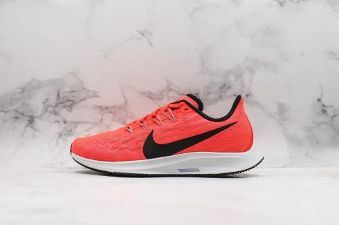 Nike Air Zoom Pegasus 36 Bright Crimson Vast Grey Obsidian Mist Black AQ2203-600