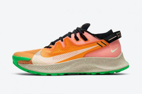 Nike Zoom Pegasus Trail 2 Mango Orange Green CK4305-800
